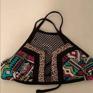 Target Halter Bikini Top